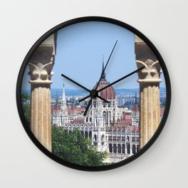 Hungary, Budapest, Hungarian Parliament, Parliament building Wall Clock