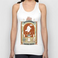 circus Tank Tops featuring The Moving Circus by Teo Zirinis