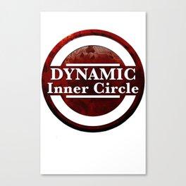 Dynamic Inner Circle white tees Canvas Print