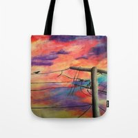 lonely Tote Bags featuring Lonely by Erin Keating