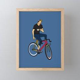 Coffee Break Framed Mini Art Print
