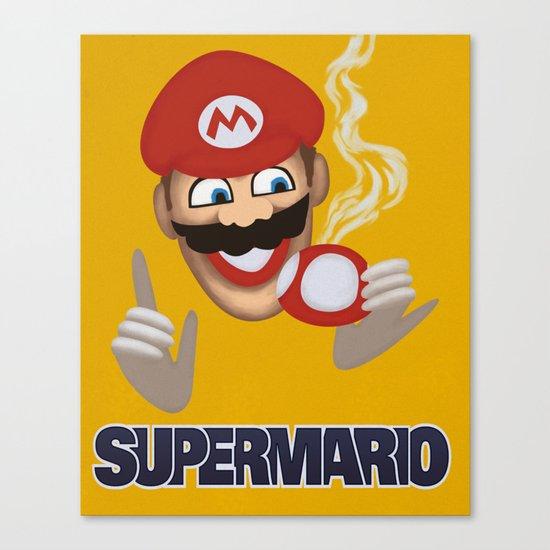MORVAN SPIRIT - Super Mario Canvas Print