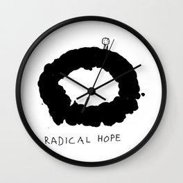 Radical Hope Wall Clock