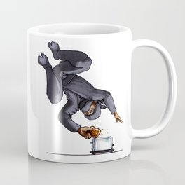 Ninja Making Toast Coffee Mug