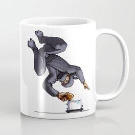 Ninja Making Toast Coffee Mug