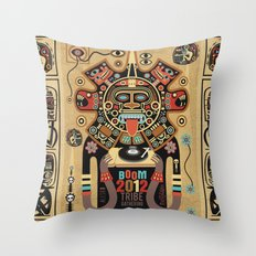 Mayas Spirit - Boom 2012 Throw Pillow