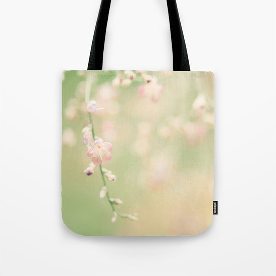 Fresh Mint Kisses Tote Bag