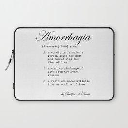 Amorrhagia Laptop Sleeve