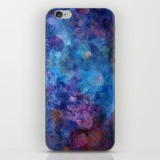 Blue Grotto Abstract Painting  iPhone & iPod Skin