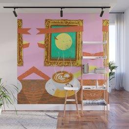 MOON COFFEE Wall Mural
