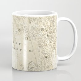 Antique Moon Map Coffee Mug