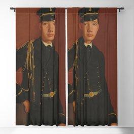 Achille De Gas in the Uniform of a Cadet Blackout Curtain