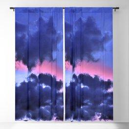 Clouds - Twilight Summer #1 #sunset #decor #art #society6 Blackout Curtain