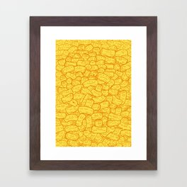 Mac and Cheese Framed Art Print