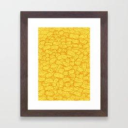 Mac and Cheese Framed Art Print