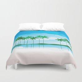 Tropical Coast Duvet Cover