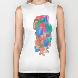 171013 Invaded Space 13|abstract shapes art design colour |shapes art abstract Biker Tank
