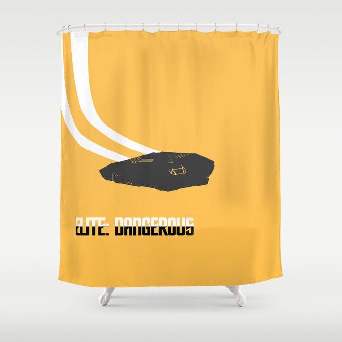 Elite: Dangerous inspired - The Cobra  Shower Curtain