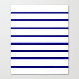 Mariniere marinière – classical pattern Canvas Print