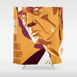 Quentin Tarantino's Plot Movers :: Kill Bill Shower Curtain