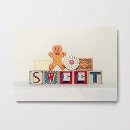 Sweet cookies Metal Print