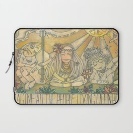 flower children Laptop Sleeve