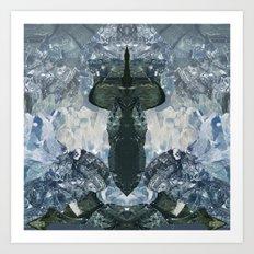 crystaux Art Print