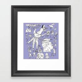 gdigdigdi Framed Art Print