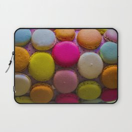 Colorful Macarons Tasty Dessert Treat Laptop Sleeve