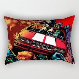Devil Planet Rectangular Pillow
