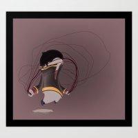 simba Art Prints featuring young simba  by Jubenal Rodriguez