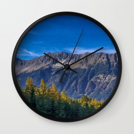 Arch of Larch Wall Clock