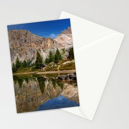 Dolomites mountain range in northeastern Italy Stationery Cards