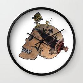 Queen of Skulls Wall Clock