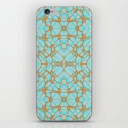Empress - Gold Veins Pattern Painting iPhone Skin
