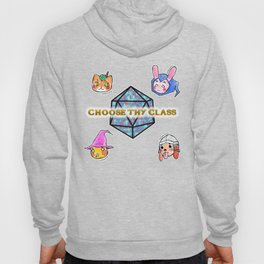 Fantasy Role-Playing Game RPG Kawaii Animals Hoody
