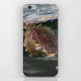 Surfing Jellyfish iPhone Skin