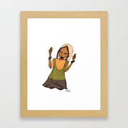 Kneel Framed Art Print