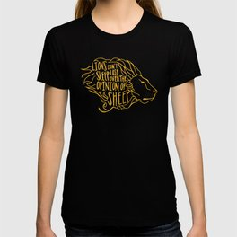 Lions don't lose sleep T-shirt