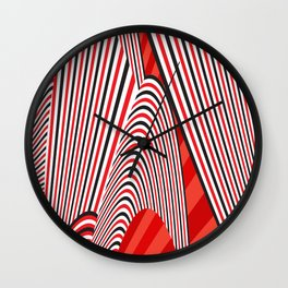 Abstract Pattern 11 Wall Clock