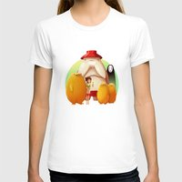 studio ghibli T-shirts featuring Studio Ghibli - Radish Spirit by Laurence Andrew Page Illustrator
