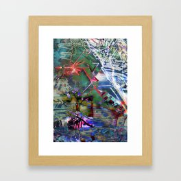 Abstract Adventure Framed Art Print