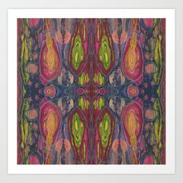 Effervescent Love Potion (Heartery) (Reflection) Art Print