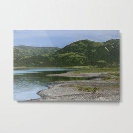 Green Mountain Photography Print Metal Print