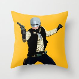 SoloCop Throw Pillow