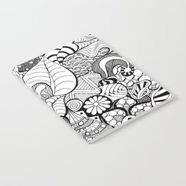 Tangled Intricate Doodle Notebook