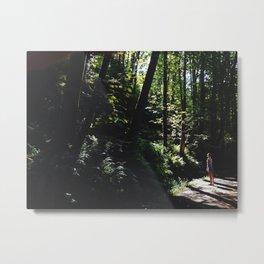 Forest Gazing Metal Print