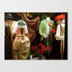 Traditional Austrian Garments Canvas Print