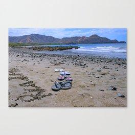 Return to Costa Rica Canvas Print