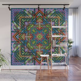 Consciousness Squared Wall Mural